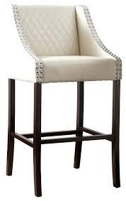 white leather swivel bar stools modern white leather bar stools emmariversworks com