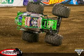 grave digger monster trucks son uva digger and wheels take east rutherford monster jam