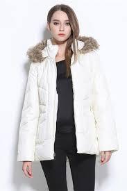Plus Size Down Coats America Style Plus Size Winter White Down Coat Down Jackets