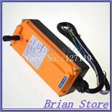 12 24vdc 10 channel 1 speed hoist crane truck radio remote control
