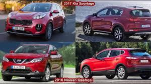 nissan qashqai or kia sportage 2017 kia sportage vs 2016 nissan qashqai design dailymotion video