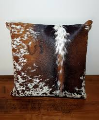 cowhide pillow cover bedding pillow living room decor
