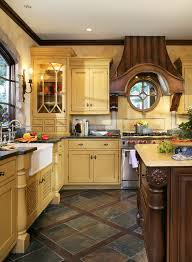 timeless french country kitchen with old world ambiance featuring