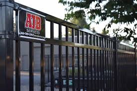 tumwater commercial security fence ajb landscaping fence