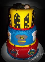 Batman Baby Shower Decorations 23 Best Superhero Baby Shower Cakes Images On Pinterest Baby