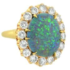 blue green opal opal and diamond ring u2013 freundschaftsring co