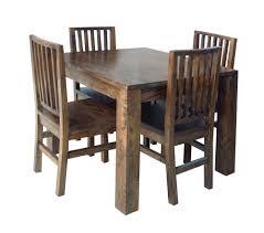 wooden card table dining tables u2044 mango wood hampton 1m