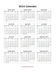 blank calendar 2016 template google docs yearly por saneme