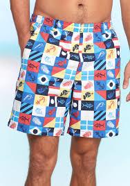 American Flag Swimming Trunks Columbia Backcast Ii Printed Water Shorts Multi Marina Flags Men
