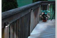 Solar Powered Deck Lights Solar Powered Deck Step Lighting Decks Home Decorating Ideas