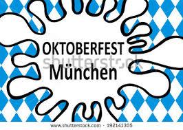 design mã nchen munich oktoberfest stock illustration 193005764