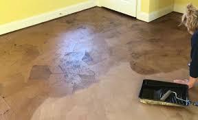Bamboo Flooring Vs Hardwood Flooring Brown Paper Flooring Vs Bamboo Flooring Hometalk