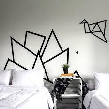 wallpaper dinding kamar pria 21 ide membuat hiasan dinding buatan sendiri dari selotip terbaru