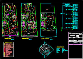 house electrical plans dwg escortsea