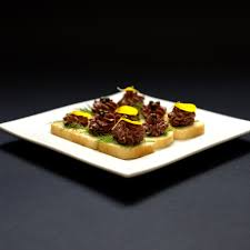 pate canapes fresh made chicken liver pate on mini toast these delicious
