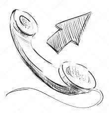 telephone phone icon u2014 stock vector chuhail 7414954