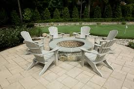 Painting Patio Pavers Landscape Pits Wood Burning Pit Pool Traditional