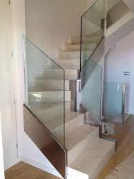 barandilla de cristal barandilla de cristal y acero inoxidable proyectos inoxleon