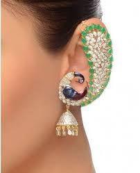 kanphool earrings traditional indian style earrings for special occasions