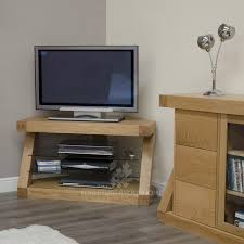 living room outstanding tv stand with wood finishing houseplant