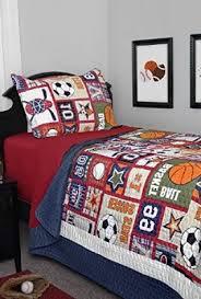 Sports Themed Duvet Covers Kids U0027 Quilt Sets Wall U0027s Furniture U0026 Decor