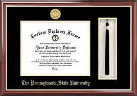 diploma frame penn state tassel box and diploma frame