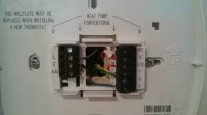 hvac heat pump air conditioning wiring to thermostat home