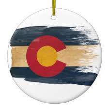 flag of colorado ornaments keepsake ornaments zazzle