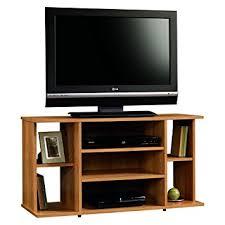 Sauder Kitchen Furniture Amazon Com Sauder Beginnings Tv Stand Highland Oak Kitchen U0026 Dining
