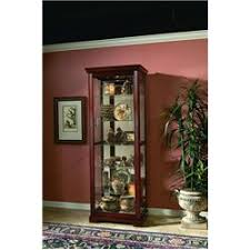 Pulaski Curio Cabinet Used Curios And Cabinets Carl Hatcher Furniture