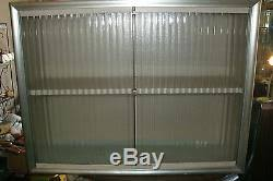 kitchen wall cabinets vintage vintage mid century metal wall cabinet translucent glass