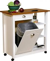 wood tilt out trash or recycling cabinet techethe com