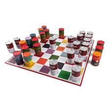 andy warhol campbells soup can chess set kidrobot