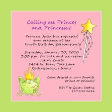 party invitation wording invitation wording princess party awesome pixie fairy birthday