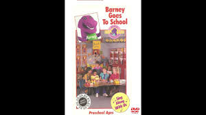 barney goes to 2006 dvd youtube
