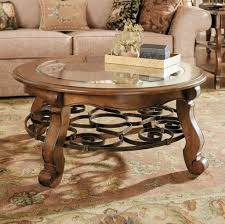 Small Round Coffee Table by Furniture Classic Small And Low Round Coffee Table With Glass Top