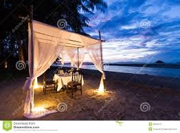 romantic dinner setup stock photography image 36029172