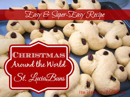 christmas around the world st lucia buns how to homeschool my