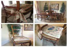 Chair Tie Backs Tie Chair Cushions Home Design Photo Gallery