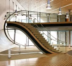 Glass Banister Kits Interior General Modern Staircase Design Inspiration With Glass