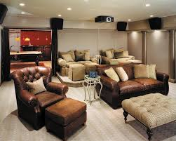 edina movie theater for a contemporary home theater with a curtain