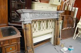 a fireplace mantle transformed the chalk and clay paint way