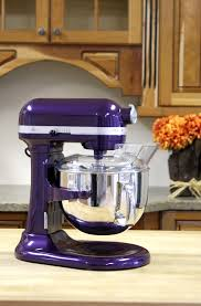 designer kitchen aid mixers kitchenaid pro 600 mixer in plum berry purple