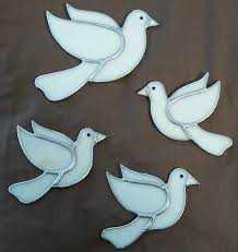 white dove christmas tree decorations white angel fairy christmas