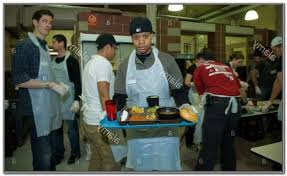 soup kitchen volunteer nyc thanksgiving kitchen set home