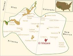New Mexico On Map El Malpais National Monument Inventory U0026 Monitoring