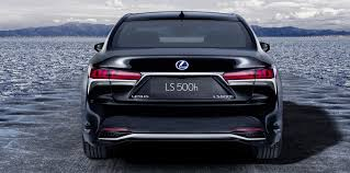 lexus that looks like a lamborghini 2018 lexus ls500h revealed photos 1 of 8