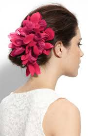 hair flower dress up your hair with s most coveted accessories