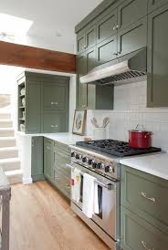 benjamin green kitchen cabinets green painted kitchen cabinets we right now apartment