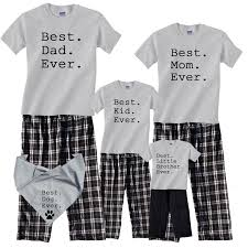 16 best personalized name pajamas for family